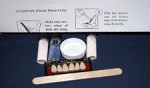 PERK Denture Repair Kit with 6 Upper-Front Denture Teeth